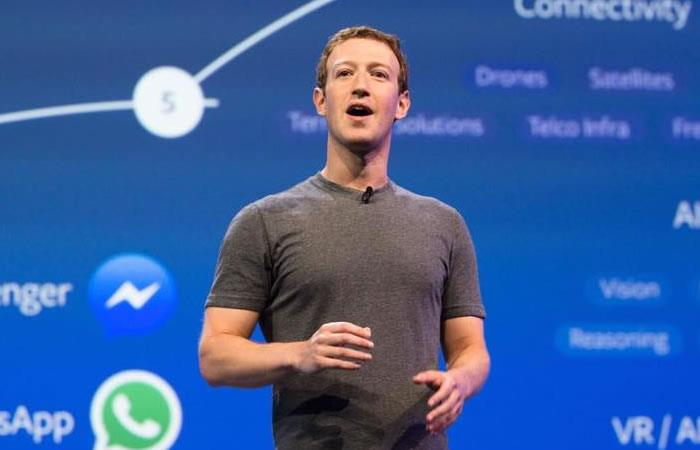 Mark Zuckerberg fundador de Facebook. Foto: Facebook