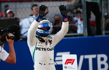 [VIDEO] Gran Premio de Rusia: Bottas sorprende a los favoritos Hamilton y Vettel