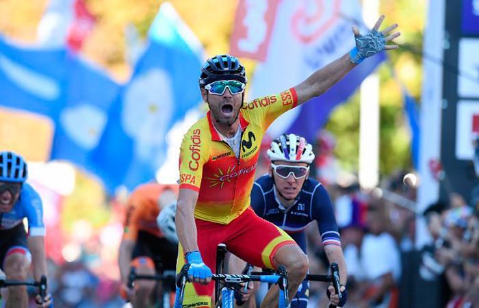Mundial de Ciclismo: Alejandro Valverde se proclama campeón