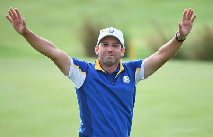 Ryder Cup: Sergio García bate récord de puntos en la historia del torneo
