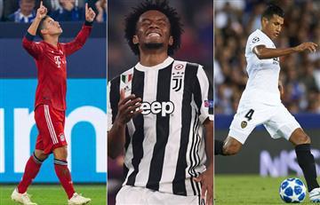 Champions League: Así jugarán los colombianos en esta nueva jornada