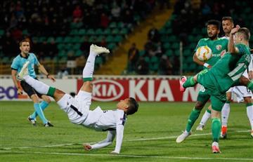 Europa League: [VIDEO] Fredy Montero hace un golazo en victoria del Sporting