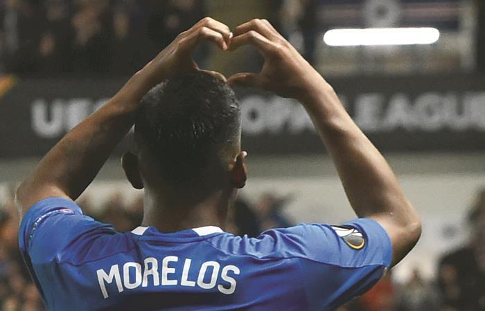 Europa League: [VIDEO] Morelos marca doblete en el triunfo del Rangers