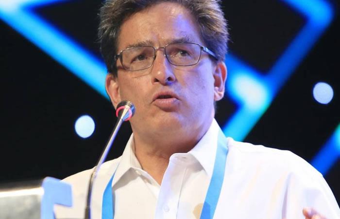Ministro de Hacienda Alberto Carrasquilla. Foto: EFE.