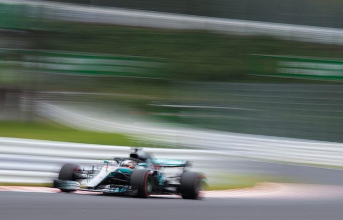 Gran Premio de Japón: [VIDEO] Lewis Hamilton es el mejor en ensayos libres
