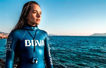 ¡Orgullo colombiano! Sofía Gómez gana medalla de Plata en Mundial de Apnea