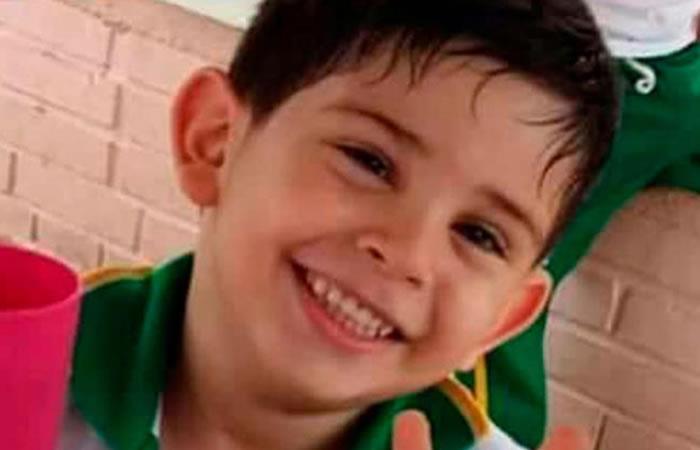 El niño de 5 años sigue secuestrado. Foto: Twitter