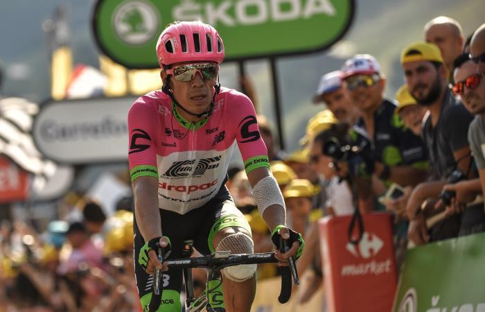 [VIDEO] Rigoberto Urán es subcampeón del Giro de Emilia en Italia