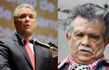 Iván Duque reconoció la gran labor de Héctor Ulloa en el país
