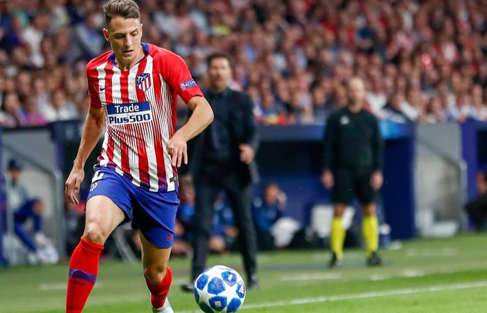 Santiago Arias con Atlético de Madrid. Foto: AFP