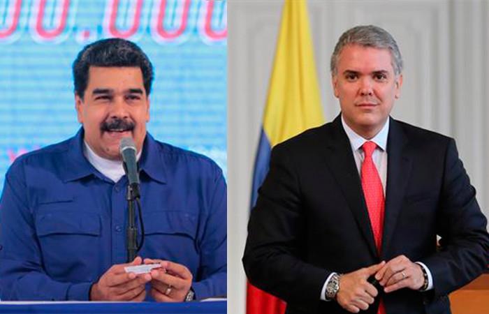 Nicolás Maduro acusó a Iván Duque de proteger a autores de atentado en su contra