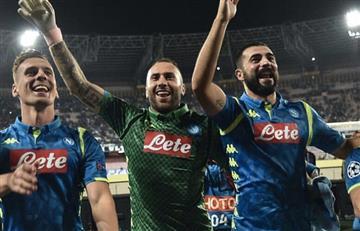 Serie A: [VIDEO] David Ospina es figura en la victoria de Nápoles ante Sassuolo