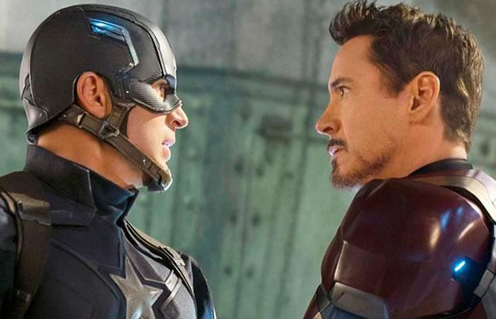 Así despide Iron Man a Capitán América