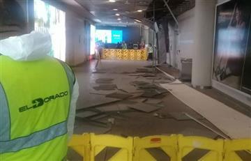 ¿Qué pasa con el techo del aeropuerto El Dorado de Bogotá?