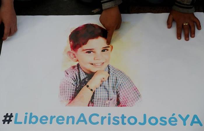 Comisión humanitaria comienza búsqueda de niño Cristo José