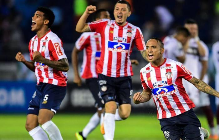 Junior viene de clasificarse a cuartos en Sudamericana. Foto: AFP