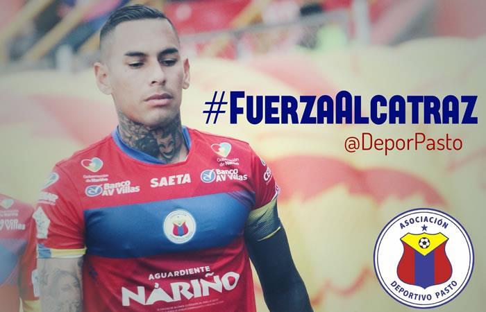 El jugador fue hospitalizado en Pasto. Foto: Twitter