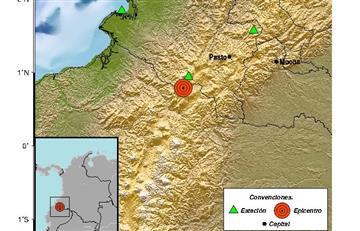 Alerta por sismo en la frontera colombo ecuatoriana