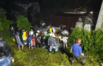Lluvias en Colombia causan estragos en Marquetalia