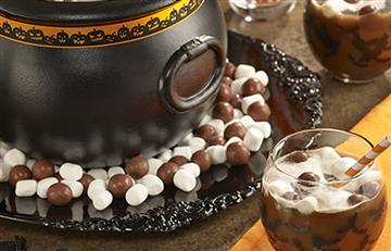 Ponche de chocolate 'de la bruja'