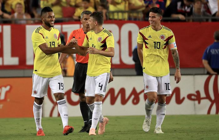 Selección Colombia: [VIDEO] James y Borja marcaron dos golazos en el triunfo de la 'tricolor'