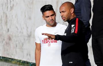 [FOTOS] Así fue el primer entrenamiento de Falcao Garcia al mando de Thierry Henry