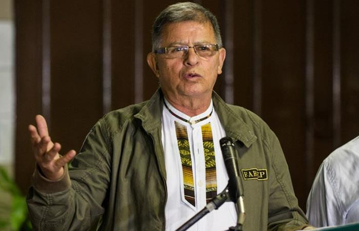 Rodrigo Granda, exlíder de las FARC. Foto: AFP