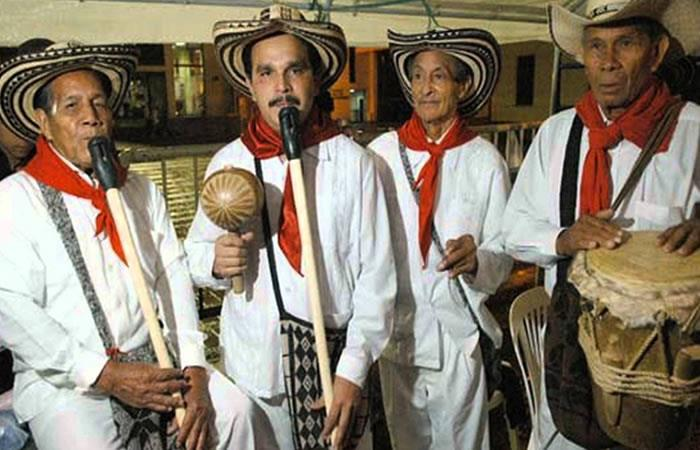 Los Gaiteros de San Jacinto, insignia de este municipio. Foto: EFE