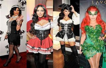 Estos son los mejores disfraces de las famosas para Halloween