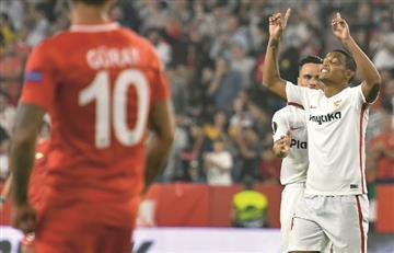 Europa League: [VIDEO] Muriel marcó un golazo en la goleada de Sevilla