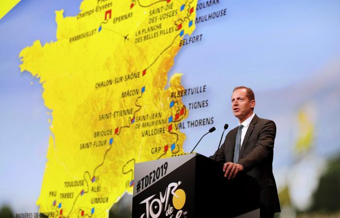 Así será el recorrido del Tour de Francia 2019. Foto: EFE