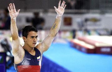 Jossimar Calvo, clasifica a la final de paralelas en el Mundial de gimnasia