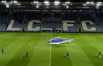 Se estrelló helicóptero del dueño del Leicester City cerca de su estadio