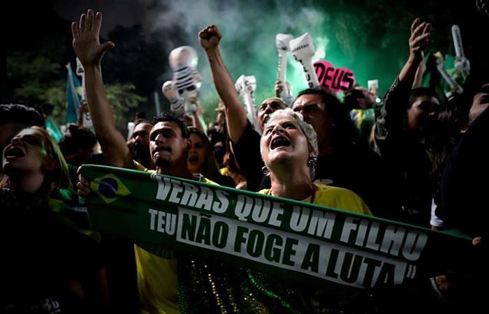 Jair Bolsonaro fue elegido sucesor de Temer. Foto: EFE