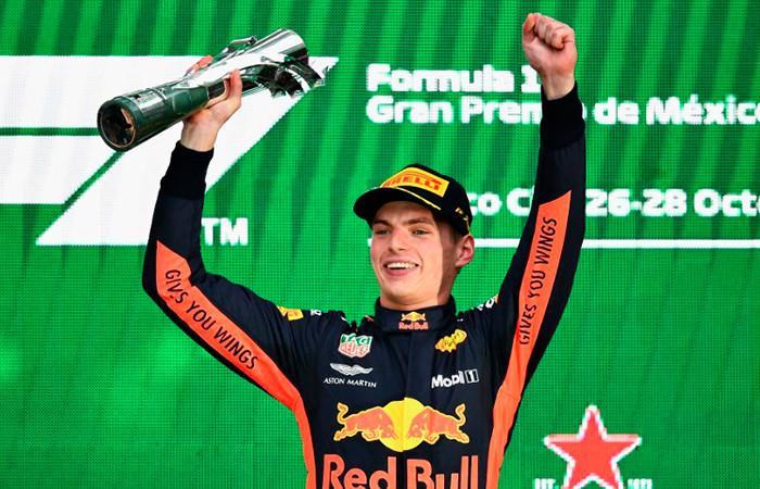 Max Verstappen gana el Gran Premio de México