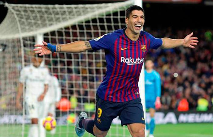 El Barcelona goleó 5-1, con triplete de Luis Suárez, al Real Madrid .Foto:AFP