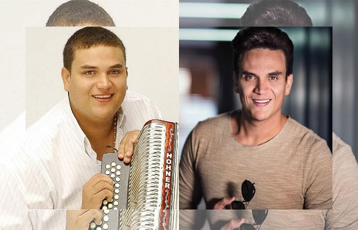 Los famosos colombianos exgorditos. Foto: Twitter