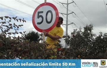 Bogotá: De 60 a 50 km/hora, nuevo límite de velocidad