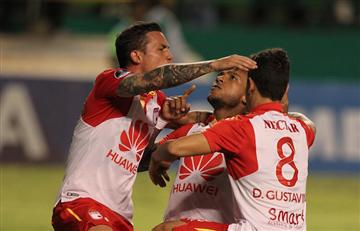 Copa Sudamericana: [VIDEO] Santa Fe sufrió, pero se clasificó a semifinales