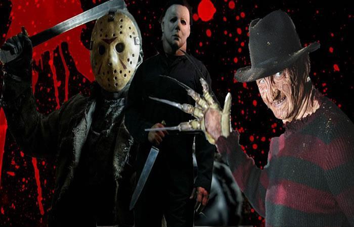 Los inolvidables del cine de terror. Foto: Twitter