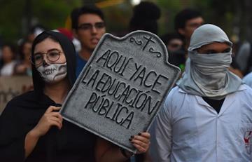 ¿Por qué se hizo la #MarchaZombie durante la celebración de Halloween?