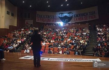 Rectora de la Universidad Nacional les pide a los estudiantes retomar las clases