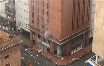 Cali: se registran explosiones en la sede de la Fiscalía