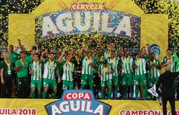 Copa Colombia: Atlético Nacional se coronó campeón en casa