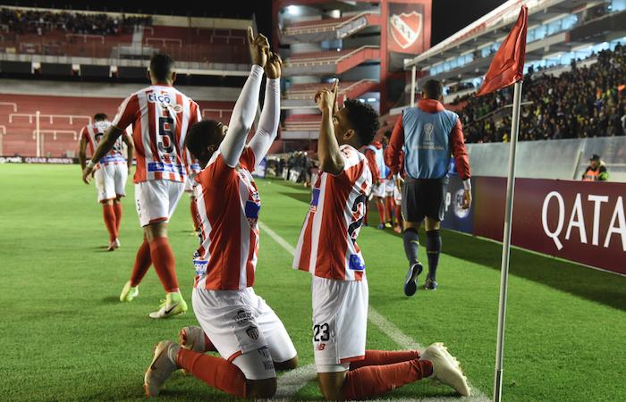 Copa Sudamericana: [VIDEO] Junior sufrió en Argentina, pero se clasificó a semifinales