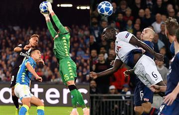 Champions League: Ospina y Sánchez fueron protagonistas con sus equipos