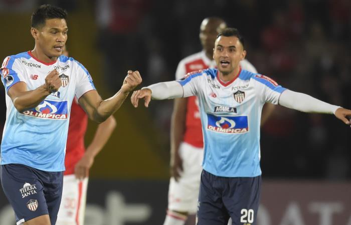 Copa Sudamericana: [VIDEO] Junior doblega a Santa Fe en El Campín