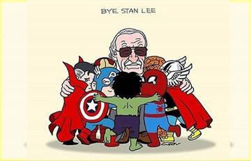 ¡FOTOS! Stan Lee también participó en las películas de Marvel