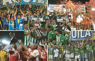 Los 5 equipos más grandes del fútbol colombiano