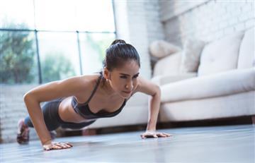 Cinco ejercicios para terminar el año con un cuerpazo